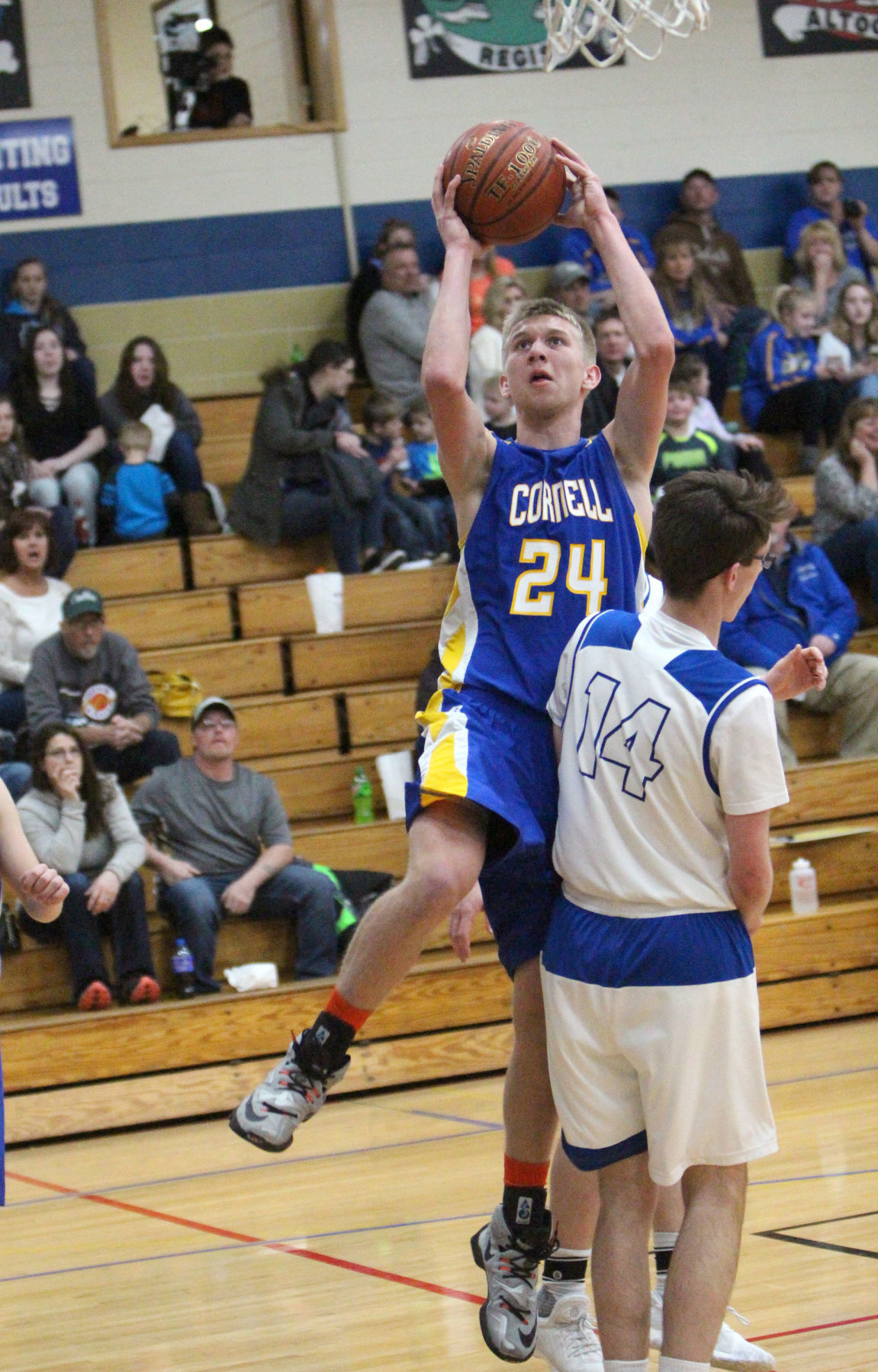 Cornell at McDonell boys basketball 2-27-18
