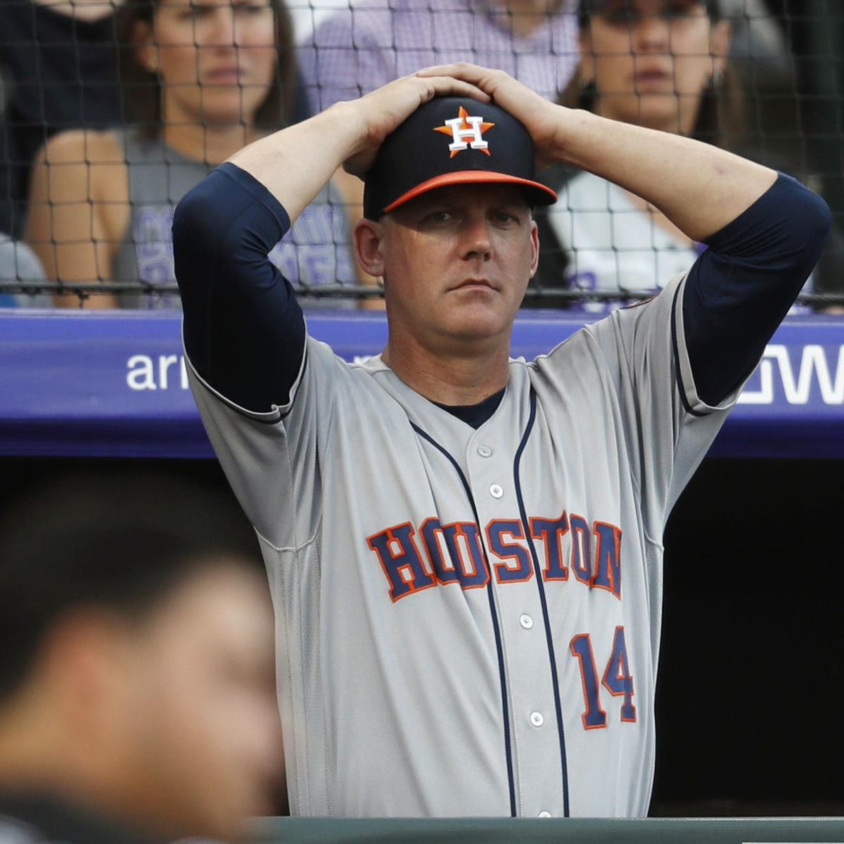 Hinch Luhnow Fired For Astros Sign Stealing Chippewa Com