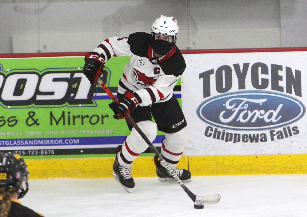 Hayward at Chippewa Falls/Menomonie girls hockey 2-5-21