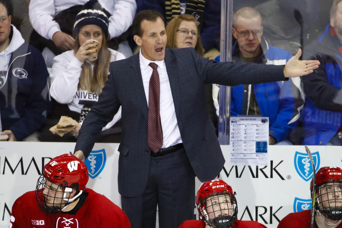 Tony Granato, Badgers men's hockey, AP generic file photo