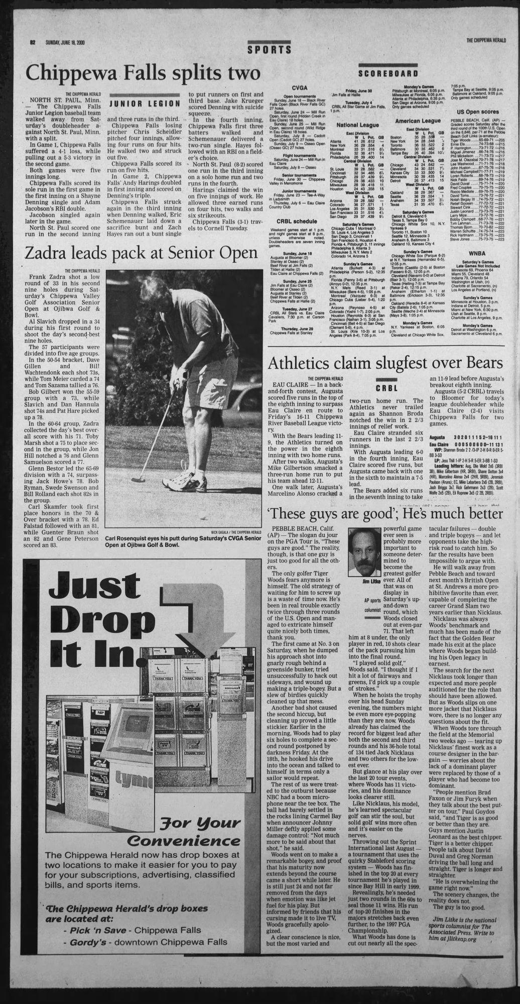 Chippewa Herald 6-18-2000