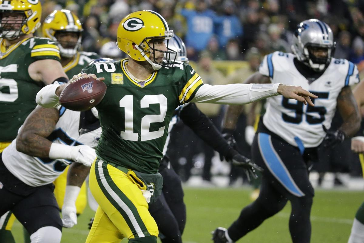 Aaron Rodgers - Panthers Packers