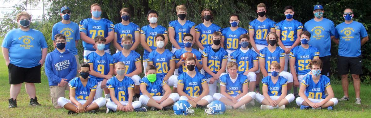 2020 McDonell Football Team