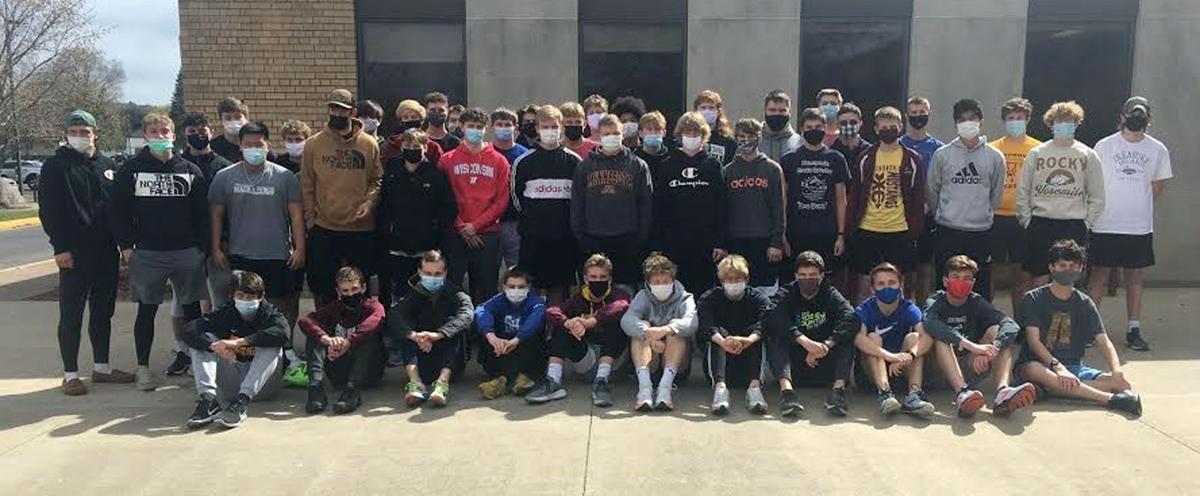 2021 Menomonie Boys Track and Field Team