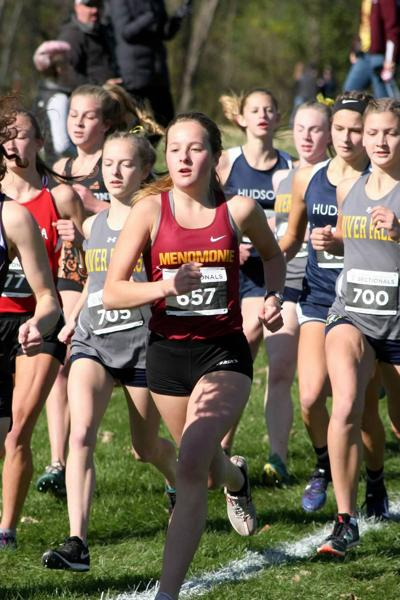 Prep Cross Country Division 1 sectionals at New Richmond 10-26-19