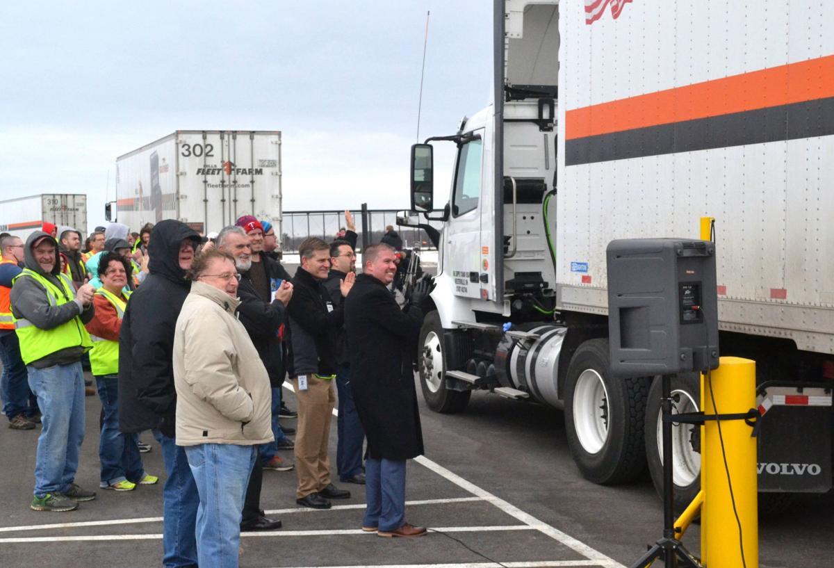 Mills Fleet Farm distribution center opening party