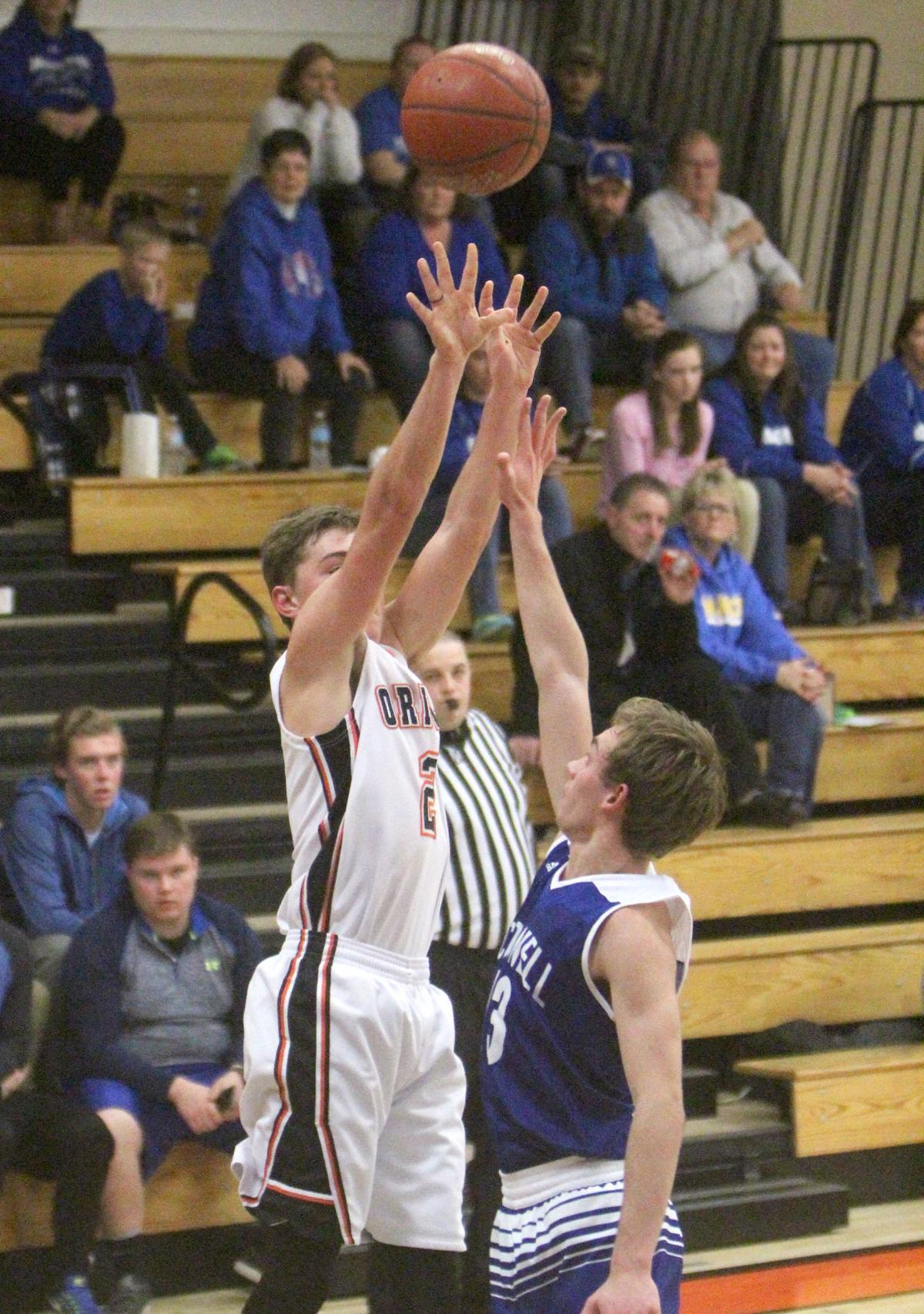 McDonell at Stanley-Boyd boys basketball 1-25-17
