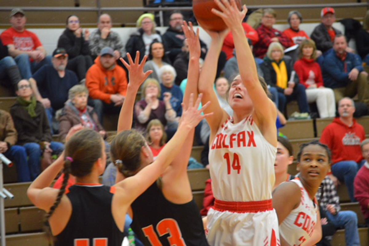 Elk Mound at Colfax girls basketball 1-22-19