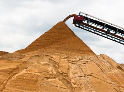 Wisconsin frac sand