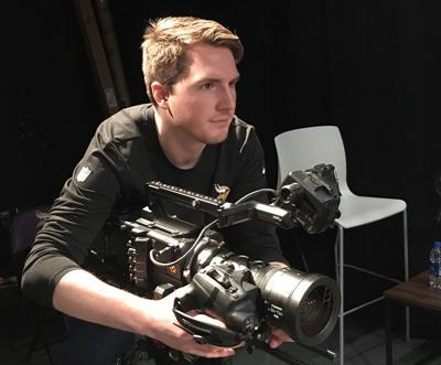 Connor Clark Vikings media services