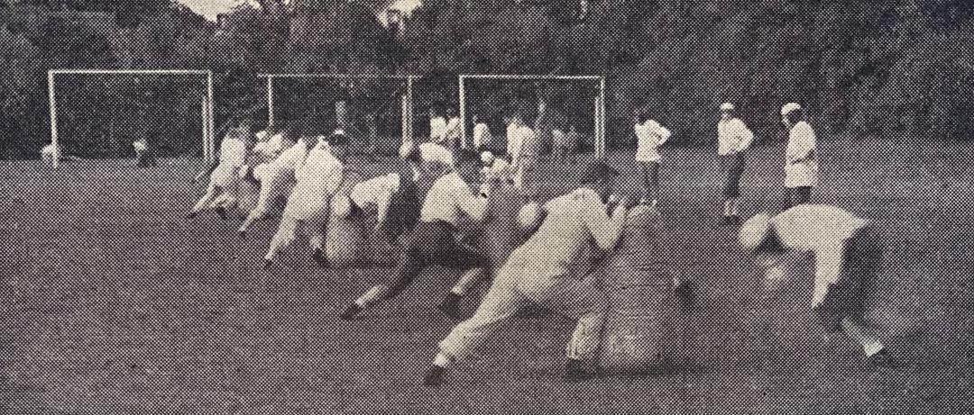 Stout football,1946