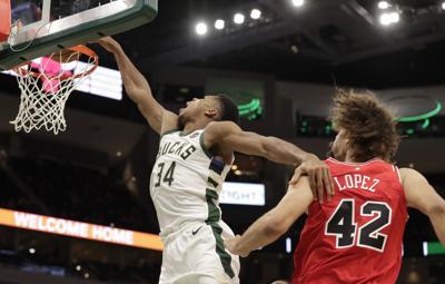 Bulls Bucks Basketball