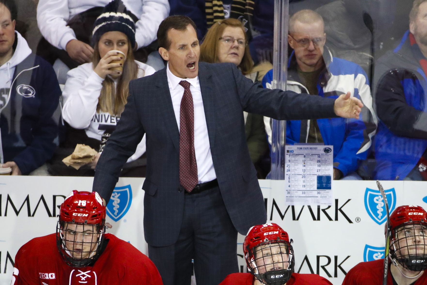 BIG10: Wisconsin Badgers Coach Tony Granato Returns To Chicago, Where A Hometown Team Once Made A Big Push For Him