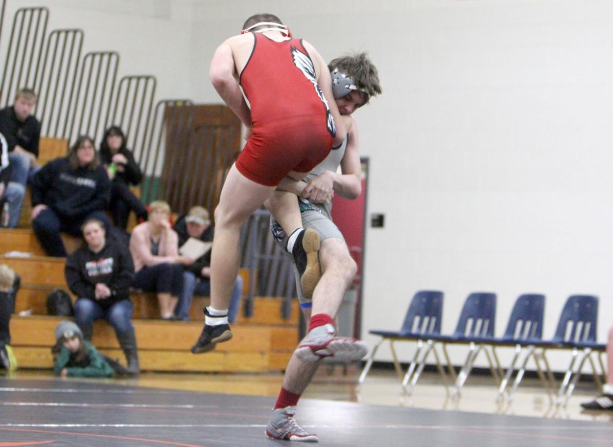 Flambeau at Bloomer/Colfax wrestling 1-22-19