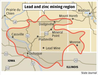 Lead mining area