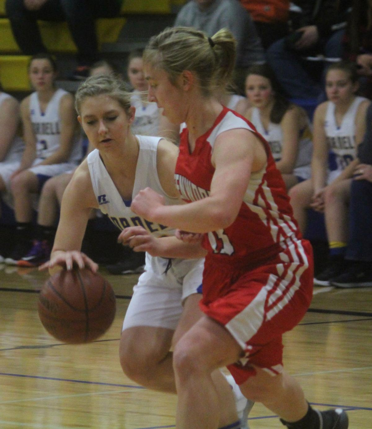 Greenwood at Cornell girls basketball 1-2-18
