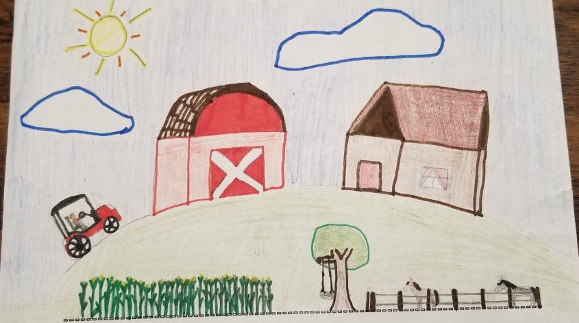 National Ag Day drawing contest
