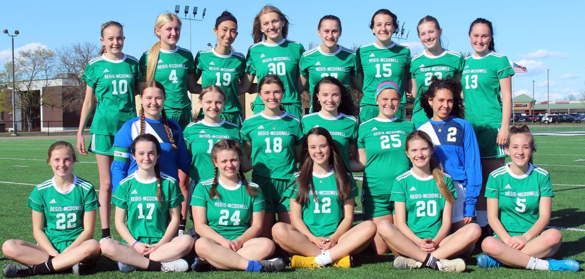 2021 Eau Claire Regis/McDonell Girls Soccer Team