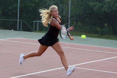 Chippewa Falls at Menomonie girls tennis 9-3-19