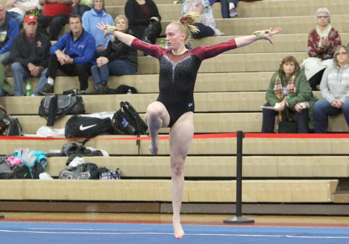 Big Rivers Conference Gymnastics Triangular at Chippewa Falls 12-12-19