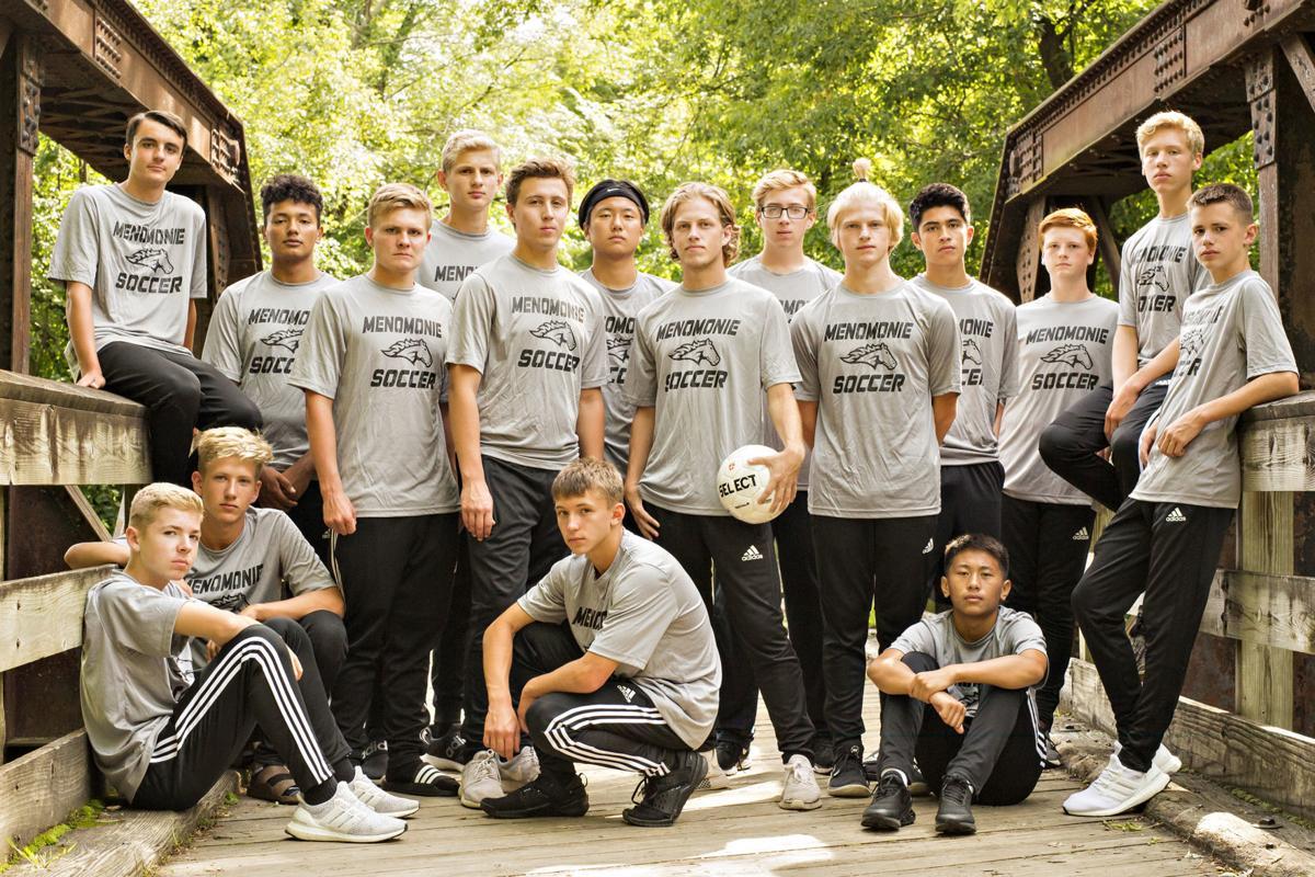 Menomonie boys soccer 2019 team photo