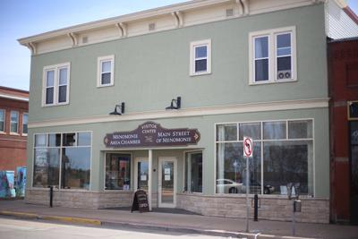 Downtown Menomonie Chamber building for sale