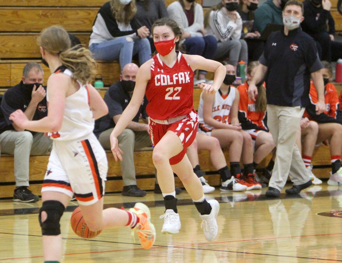 Colfax at Elk Mound girls basketball 1-25-21
