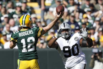 Aaron Rodgers - Raiders Packers