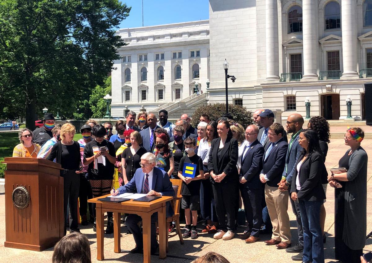 Evers pride event