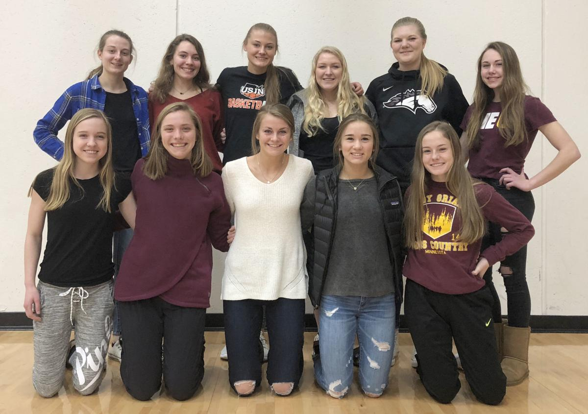 Menomonie girls track and field 2018