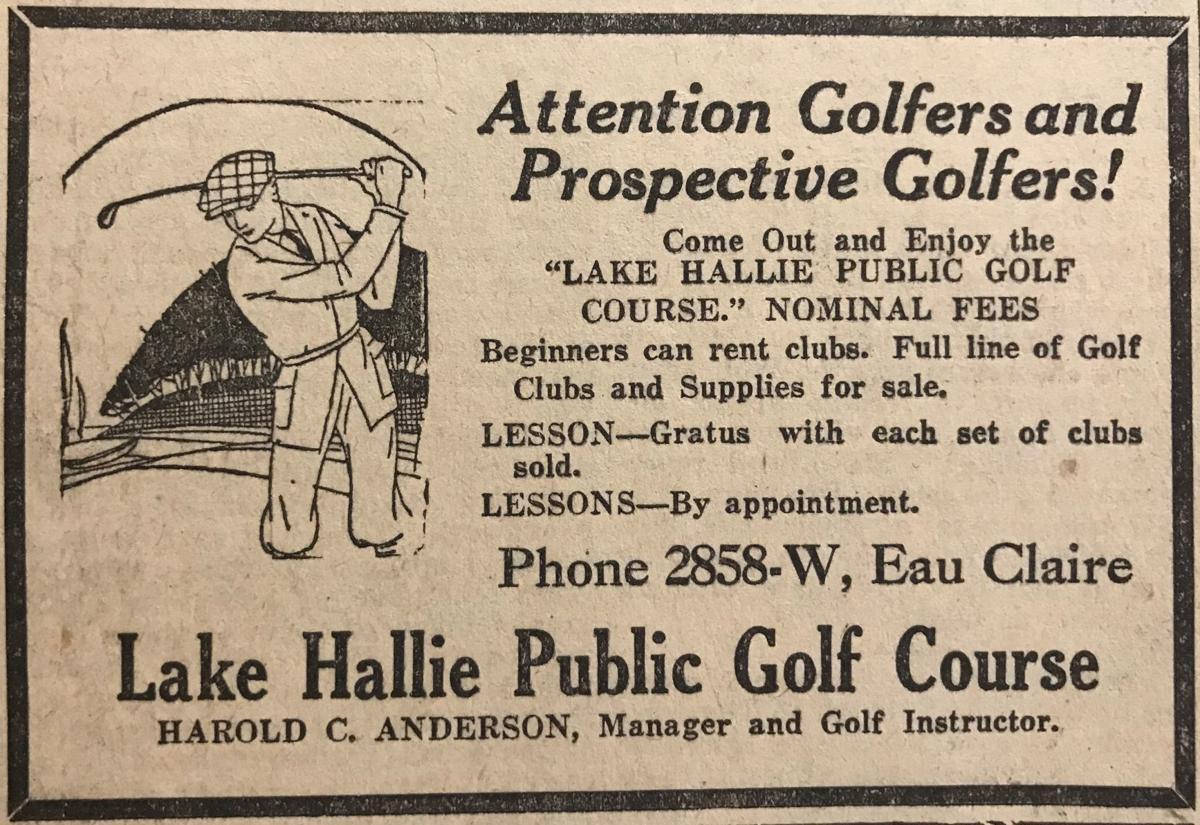 Time Capsule Hallie Golf Course
