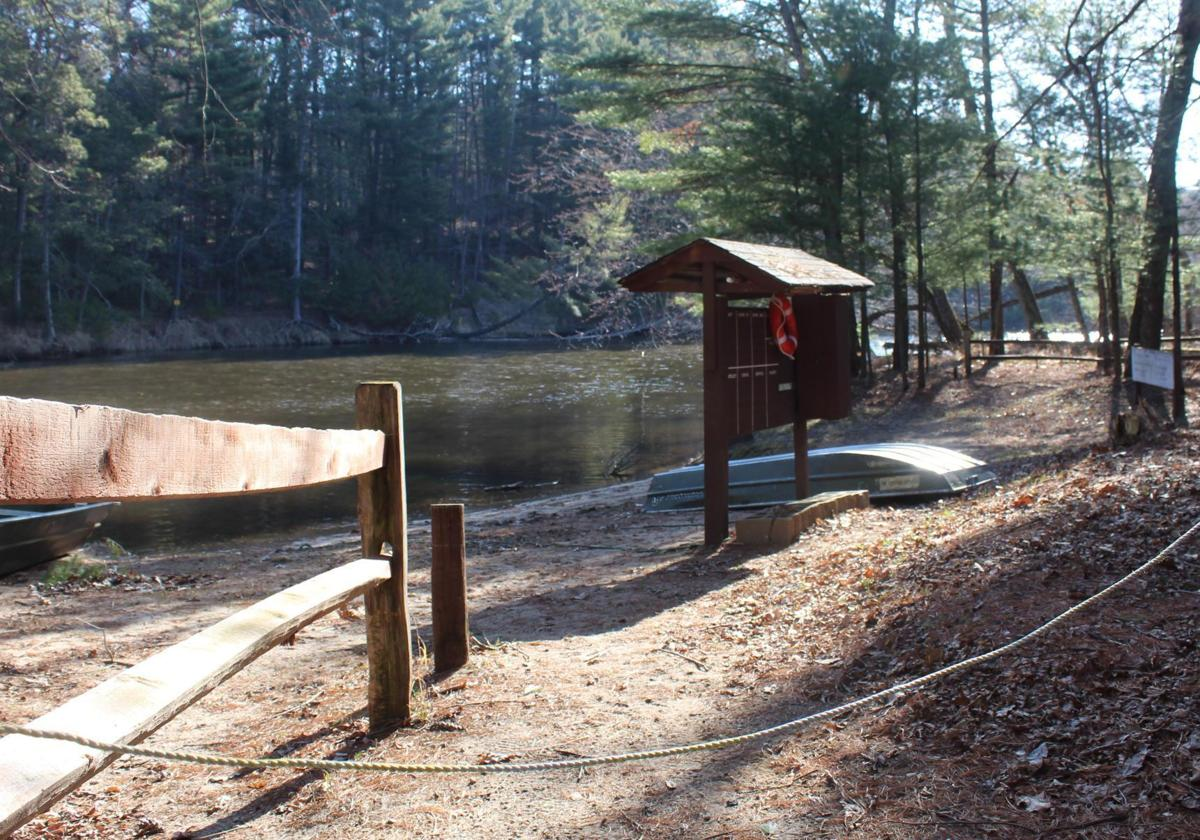Upham Woods swimming area in Dells