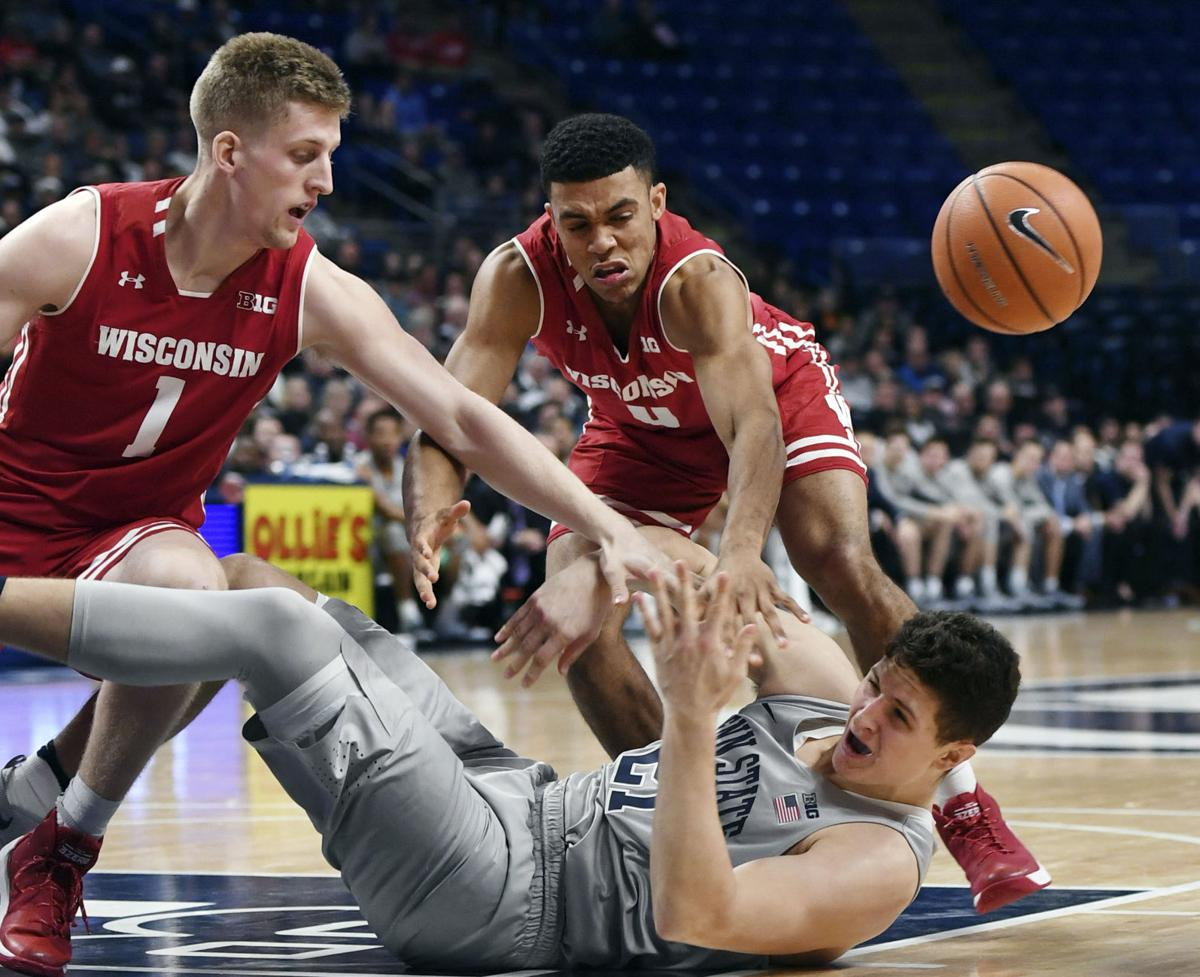 Wisconsin Penn State Basketball