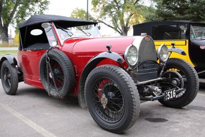 Bugatti classic convertible