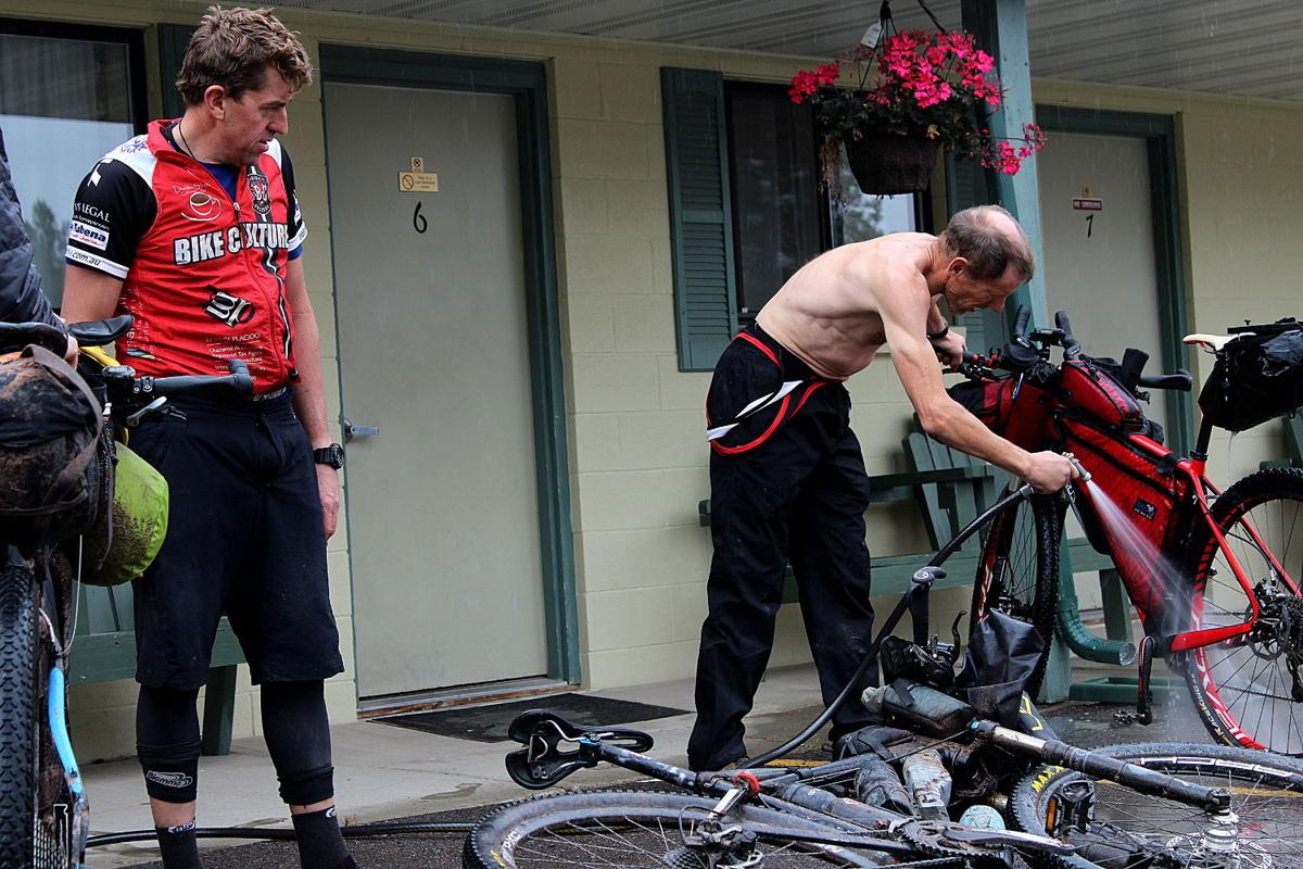 THE MONTANA GAP: Bike washing