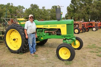 Restored tractor
