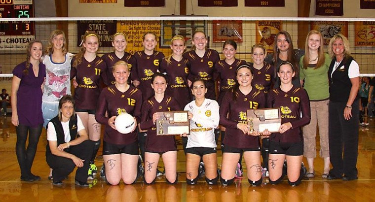 Choteau wins District 1B volleyball tournament