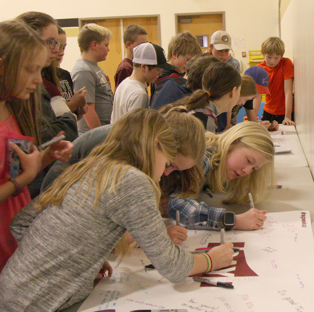 THE MONTANA GAP: Say Something program offers a glimmer of hope to youth