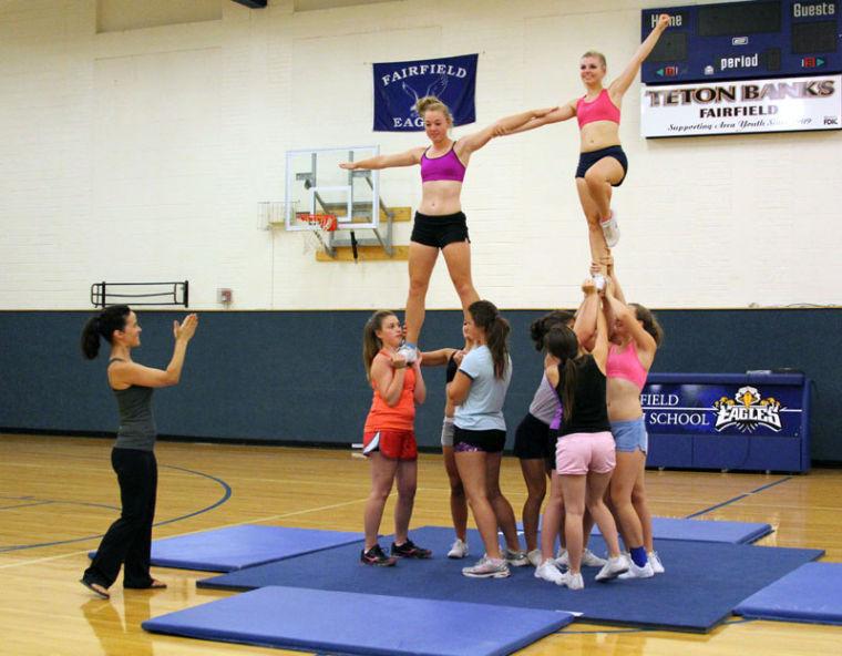 FHS cheer squad