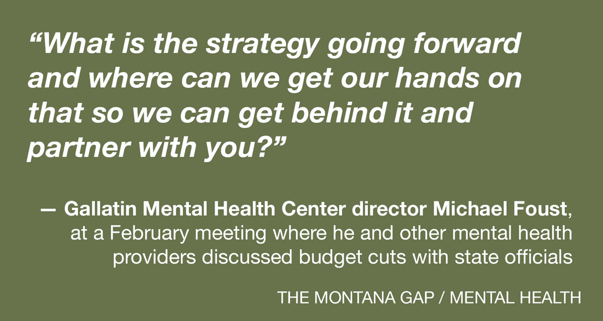 Chasing the curve: As budgets churn, can Montana get its mentally ill care before they hit crisis?