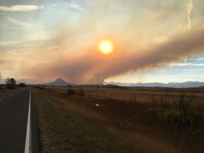 Crown Mountain Fire