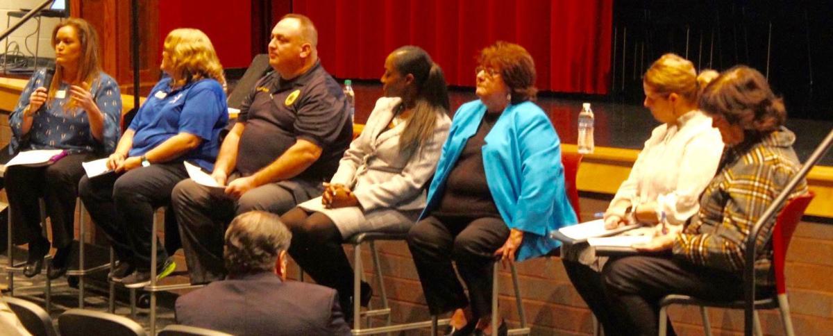 Town Hall panelists