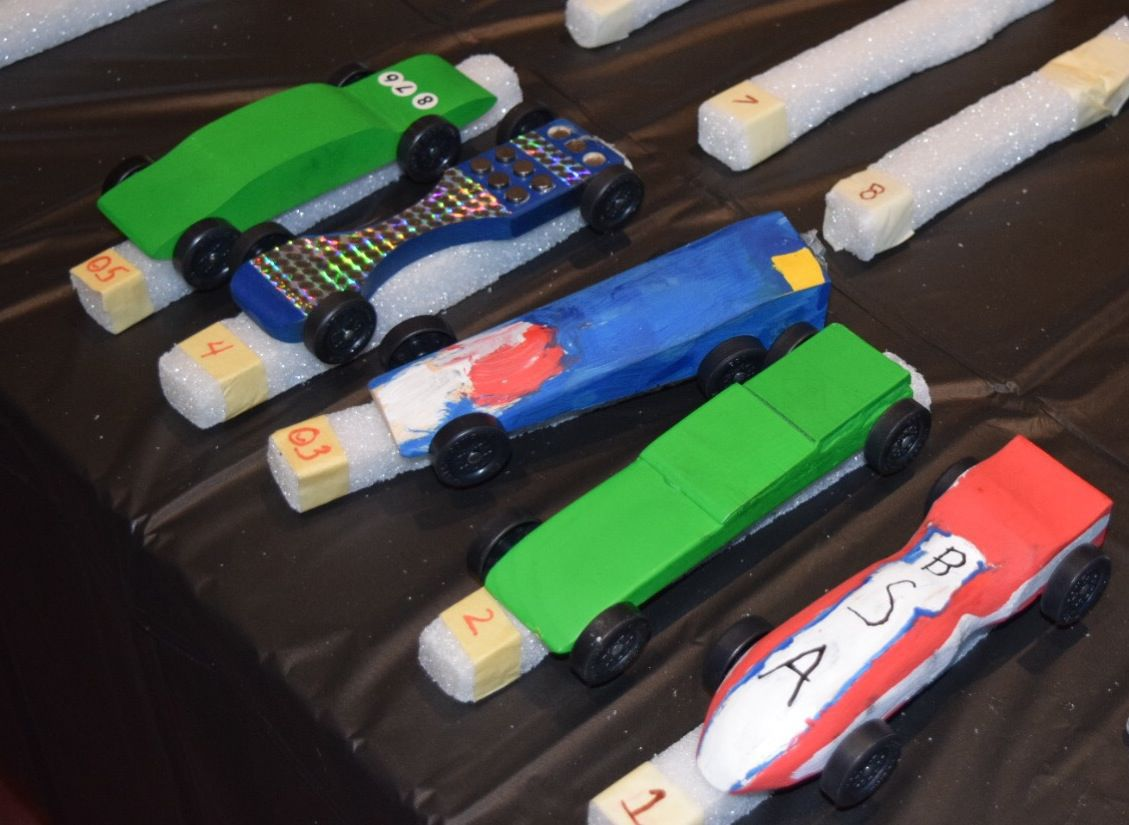 Cub Scouts Pack 55 Pinewood Derby