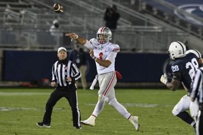 Justin Fields passing