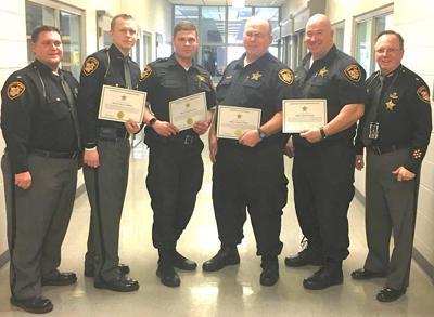 Certificates presented