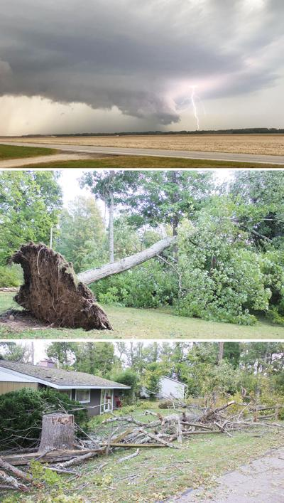 Storm and damage