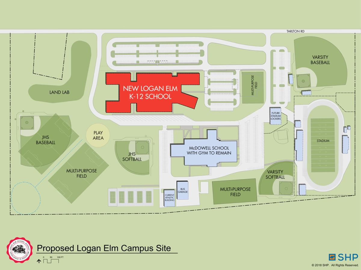 Logan Elm Campus site plan