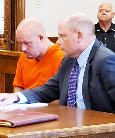 Mullins appears in court