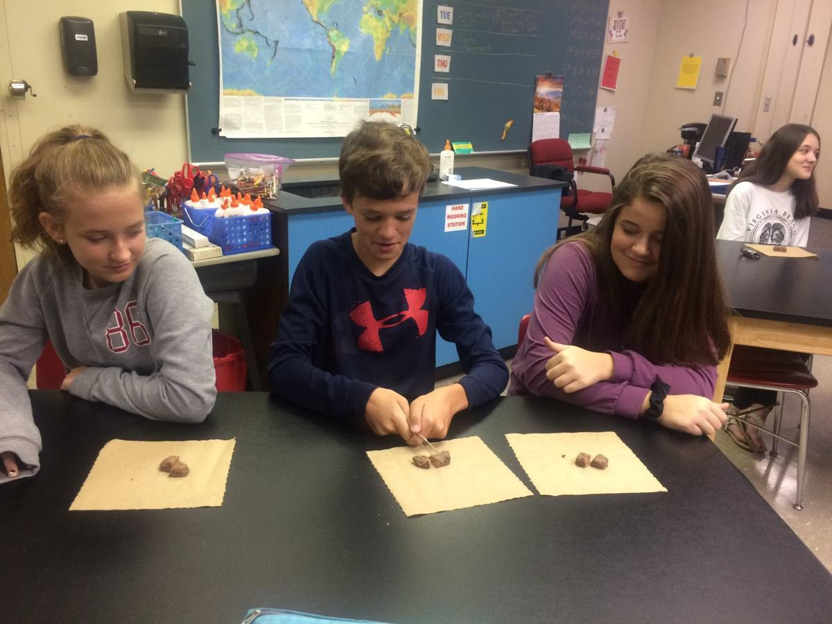 McGuire's students study geology