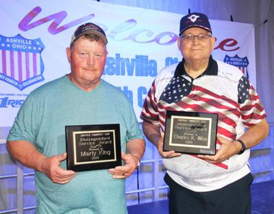 Ashville honors two